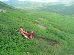 Alaska crash site in Dillingham