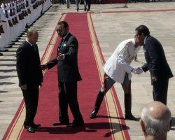RUSSIAN PRESIDENT PUTIN VISITS MOROCCO