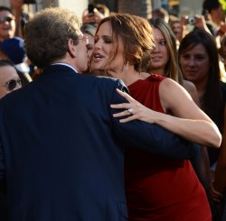 """Jennifer Garner and Alan Horn attend the premiere of """"The Odd Life of Timothy Green"""" in Los Angeles"""