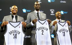 Brooklyn Nets announce newly acquired players in New York