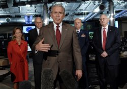 PRESIDENT BUSH MEETS WITH COUNTERTERRORISM TEAM