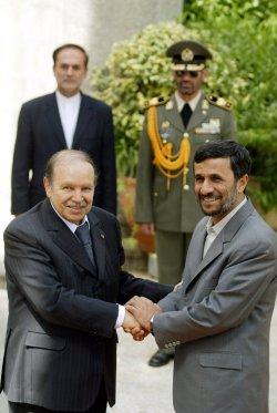 Algerian President Abdelaziz Bouteflika visits Iran