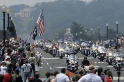 20th ANNUAL ROLLING THUNDER RIDE IN WASHINGTON