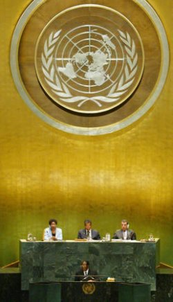 62ND GENERAL ASSEMBLY TAKES PLACE AT THE UNITED NATIONS IN NEW YORK