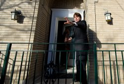 Blagojevich waves to supporters after being sentenced to 14 years in prison in Chicago