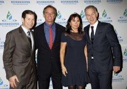 Mike Richter, Bobby Kennedy Jr. Patty Smyth McEnroe and John McEnroe arrive for the Riverkeeper Fishermen's Ball New York