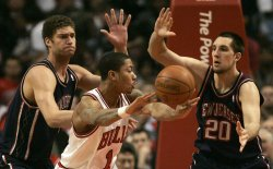New Jersey Nets vs. Chicago Bulls