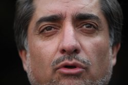 Afghan presidential candidate Abdullah Abdullah says Karzai government lacks legitimacy in Kabul