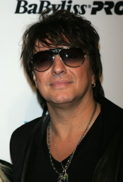 Richie Sambora arrives at the WTB Fall 2011 Fashion Show in New York