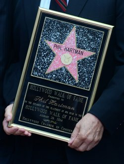 Phil Hartman receives posthumous star on Hollywood Walk of Fame in Los Angeles