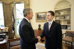 BUSH WELCOMES TEACHER OF THE YEAR