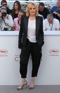 Emmanuelle Seigner attends the Cannes Film Festival