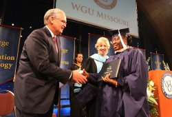 First commencement of Western Governors University