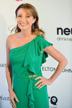 Jane Seymour attends the Elton John AIDS Foundation Oscar viewing party