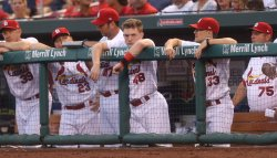 St. Louis Cardinals Harrison Bader