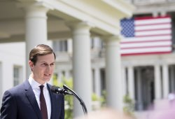 Jared Kushner speaks to the media on his Rusian Meetings in Washington, D.C.