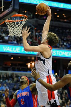 Washington Wizards vs Detroit Pistons in Washington