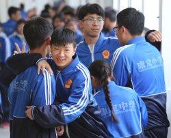 Tibetan students play at school in Ganzi Prefecture