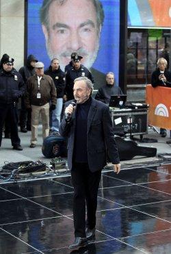 Neil Diamond performs on the NBC Today Show