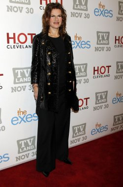 Sandra Bernhard arrives for TV Land's Holiday Premiere Party in New York