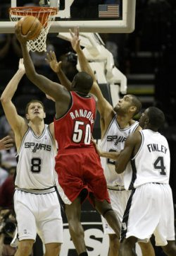 PORTLAND TRAILBLAZERS VS SAN ANTONIO SPURS