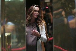 Lara Trump at Trump Tower in New York