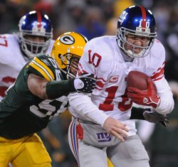 NFC Championship New York Giants vs Green Bay Packers