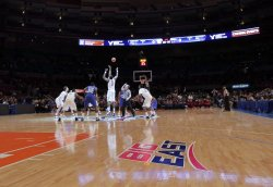 Tip off at the NCAA Big East Men's Basketball Championships Finals in New York