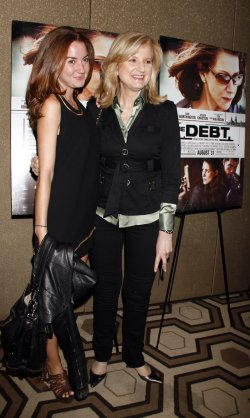 "Arianna Huffington arrives for the ""The Debt"" Premiere in New York"