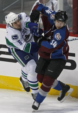 Colorado Avalanche vs Vancouver Canucks
