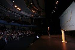 Amazon CEO Jeff Bezos announces the new Kindle DX