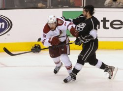LA Kings vs Phoenix Coyotes game three of Western Conference Finals, NHL Stanley Cup Playoffs