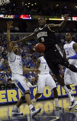 Kentucky vs Vanderbilt in the NCAA SEC Men's Basketball Championship in New Orleans