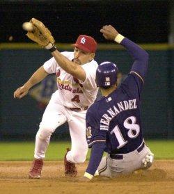 St Louis Cardinals vs Milwaukee Brewers baseball