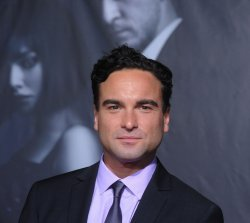 """Johnny Galecki attends the """"In Time"""" premiere in Los Angeles"""