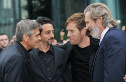 George Clooney attends Toronto International Film Festival