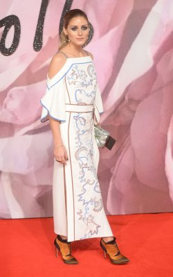 Olivia Palermo at The Fashion Awards in London