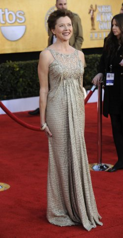 Annette Bening arrives at the 17th annual Screen Actors Guild Awards in Los Angeles