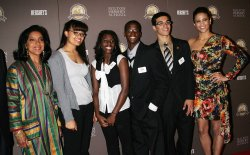"Phylicia Rashad, Paula Patton and Milton Hershey School Students attend the ""Milton Hershey School"" Screening in New York"
