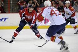 Capitals Fleischmann scores against Panthers in Washington