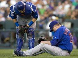 Gorzelanny Injured Against the Rockies in Denver