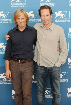 Loin Des Hommes photo call in Venice