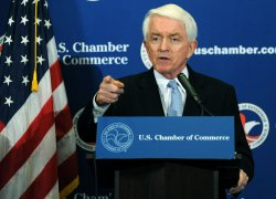 Chamber of Commerce chief Donohue discusses economy in Washington