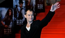 """Sherlock Holmes: A Game of Shadows""Japan premiere"
