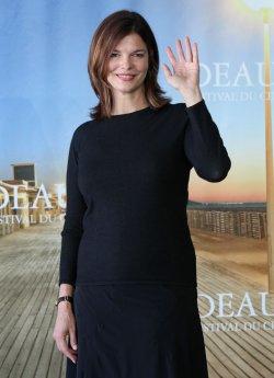 Jeanne Tripplehorn arrives at American Film Festival in Deauville