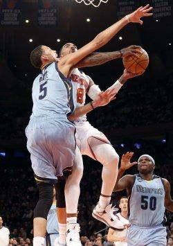 Knicks vs Grizzlies at Madison Square Garden