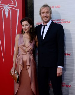 "Rhys Ifans and Anna Friel attend ""The Amazing Spider-Man"" premiere in Los Angeles"