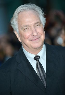 Alan Rickman attends 'A Little Chaos' world premiere at the Toronto International Film Festival