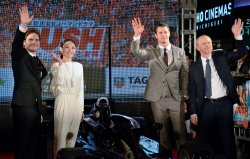 """""""Rush"""" premiere in Tokyo"""
