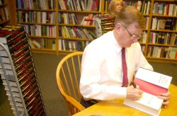 Tom Clancy book signing